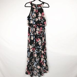 ELLE Floral Sleeveless Sundress in EUC - Size L